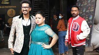 Dance Deewane 3 Ke Set Par Dikhe  Bharti Singh, Haarsh Limbachiyaa Aur Dharmesh Yelande