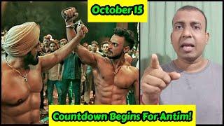 30 Days Countdown Begins For Antim Movie! 1 Month To Go For Salman Khan Starrer Antim Movie