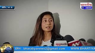रसोमा चौराहे पर डांस करने वाली मॉडल श्रेया कालरा ने मीडिया के सामने दी सफाई.. #bn #mp #indore