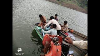 डही के काश्ता में वैक्सीनेशन टीम को मछुआरो की सहायता से सुरक्षित बचाया