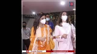 Shilpa Shetty returns after Vaishno Devi Darshan #Shorts