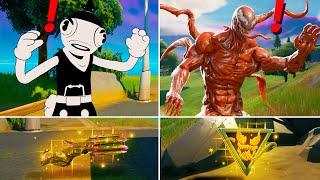 Fortnite Season 8 Bosses, Mythic Weapons (Boss Carnage Venom , Toona Fish )