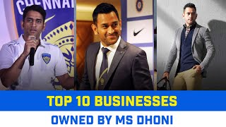 MS Dhoni Net Worth   MS Dhoni Salary in 2021   MS Dhoni's List of business