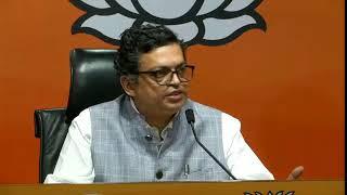 Press Conference by BJP National Spokesperson Shri Gopal Agarwal at BJP Head Office, New Delhi.