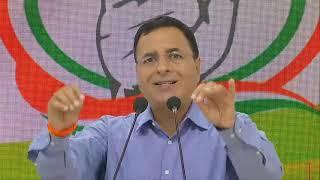 LIVE: Special Congress Party Briefing by Shri Randeep Singh Surjewala at AICC HQ