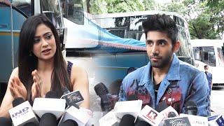 Khatron Ke Khiladi 11 Finale   Shweta Tiwari And Varun Sood Spotted At Film City