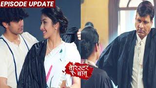 Barrister Babu | 22nd Sep 2021 Episode Update | Anirudh Ne JAIL Me Pehnaya Bondita Ko Barrister Robe