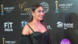 Surbhi Chandna At 2nd Iconic Gold Awards 2021