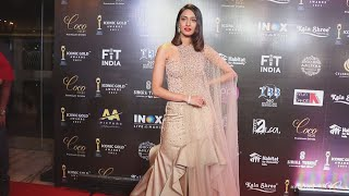 Erica Fernandes At 2nd Iconic Gold Awards 2021