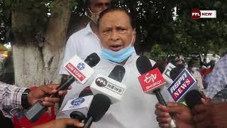 PCC Chief Niranjan Pattnaik Supports 'Bharat Bandh' on 27th September