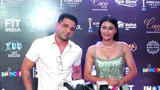 Eijaz Khan & Pavitra Punia Full Exclusive Interview - 2nd Iconic Gold Awards 2021