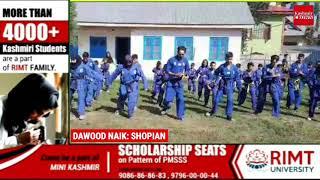 44RR COB Phanoo Organised a Sqay Martial Art at Govt High School Pinjora.