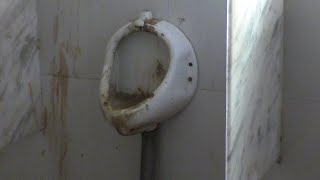 Toilet: Ek dirty katha. Dirty picture of govt office toilets in Junta house!