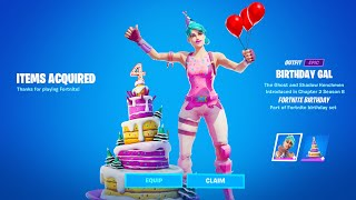 CLAIM FREE SKIN NOW! (How to Get Free Skin in Fortnite Birthday Challenges Quest)