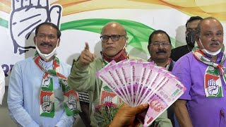 Without Vitamin-M how will a party run?: Digambar Kamat