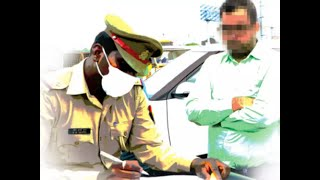 After helmets, cops are now focussed on face masks! Listen to the plight of this man who got fined!