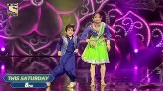 Super Dancer 4 Semi Finals Promo   Sanchti Aur Vartika Ka Amazing Performance