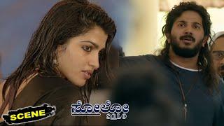 Solo Kannada Movie Scenes   Dulquer Salmaan Mass Introduction Scene   Sai Dhansika