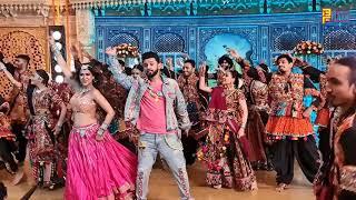 Rahul Vaidya & Nia Sharma New Song Behind The Scene - Garbe Ki Raat Song