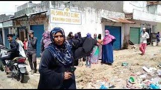 AIMIM Leaders Ke Khilaaf Boli Khawateen   Kaha Chappal Se Marungi   Sulaman Nagar   SACH NEWS  