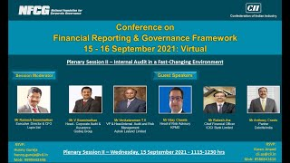 Panel Discussion 2:  Internal Audit in a Fast-Changing Environment
