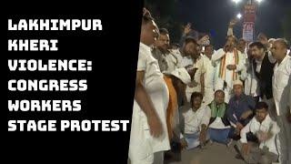 Lakhimpur Kheri Violence: Congress Workers Stage Protest, Demand Release Of Priyanka Gandhi
