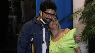 Neha Bhasin & Raqesh Bapat Spotted At Bandra