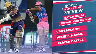 IPL 2021: Match 54, KKR vs RR Predicted Playing 11, Match Preview & Head to Head Record - Oct 7th