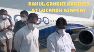Rahul Gandhi Arrives At Lucknow Airport   Catch News