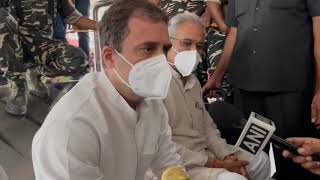 Lakhimpur Kheri Violence: Shri Rahul Gandhi addresses media in Lucknow