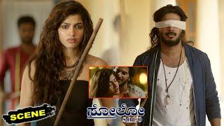 Solo Kannada Movie Scenes   Dulquer Salmaan Convinces Sai Dhanshika for Wedding