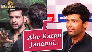 Bigg Boss 15 | Abe Karan Jananni... Kushal Tandon Ne Karan Kundrra Par Nikali Bhadaas