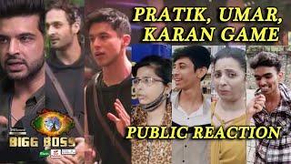 Bigg Boss 15 Public Reaction | Karan Kundra, Umar Riaz Aur Pratik Ke Game Par Boli Public