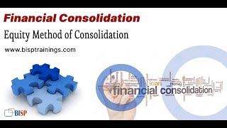 Equity Method of Consolidation   Oracle FCCS Consolidation   Oracle Financial Consolidation