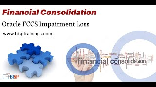 Impairment Loss   Oracle FCCS Impairment Loss   Oracle Financial Consolidation   Oracle EPM