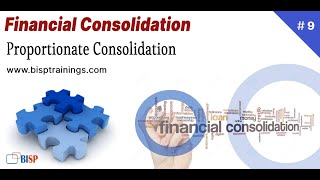 Proportionate Financial Consolidation   Oracle FCCs   Oracle Consolidation   BISP FCCS