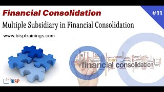 Multiple Subsidiary in Financial Consolidation    Multistep Consolidation   Multilevel Consolidation