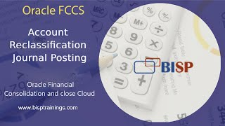 Oracle FCCs Account Reclassification Journal Posting  FCCs Journal Posting  FCCs Implementation