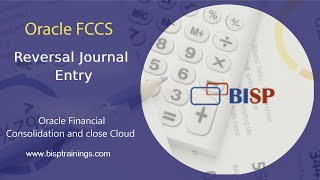 Oracle FCCs Reversal Journal Entry   Oracle FCCs Implementation   FCCs Training   @BISP Trainings