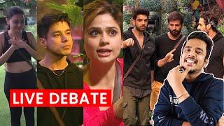 Bigg Boss 15 LIVE DEBATE | Karan, Pratik, Jay, Tejaswi, Umar Game Plan