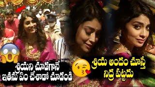 Actress Shriya Saran Superb Looks In Saree At Mugdha Store Grand Opening | Vijayawada|Top Telugu Tv