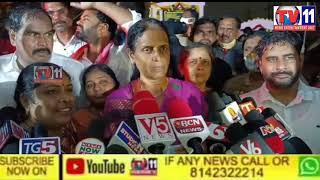 SABITA INDRAREDDY PAID EARTH WORSHIP TO OFFICE BUILDING TO BE CONSTRUCTED AT MIRPET, WHICH FORMED AS