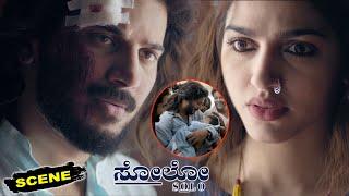 Solo Kannada Movie Scenes   Dulquer Salmaan & Sai Dhanshika Emotionalo Conversation