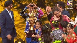 Super Dancer 4 Florina And Tushar Shetty Declared Winner