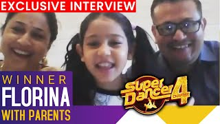 Super Dancer 4 WINNER Florina With Parents, Assam Ka Naam Roshan Kiya, Tushar Shetty   Interview