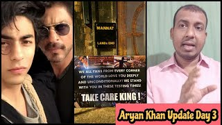 Aryan Khan Latest Update Day 3, Shah Rukh Khan Fans Aaye Aryan Ke Support Mein Kahaa Take Care King!
