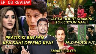 Bigg Boss 15 Review EP 08 | Nikki Ka Pratik Ko Defend, Karan Jay Me Padegi Fut, Umar Smart Player