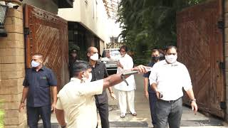 Amitabh Bachchan Birthday 2021 - Meeting Fans Outside His House
