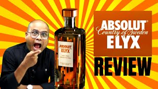 Absolut ELYX Vodka Review in Hindi   Price 5630/- Only   Luxury Vodka Review   Cocktails India