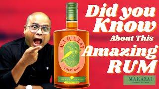 Makazai Gold Rum Review in Hindi   India's First Premium Gold Rum - Makazai   Cocktails India